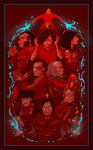 Go Go Fire Nation by NoSelfControl