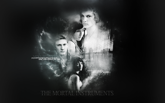 The Mortal Instruments Wall-3 by EUNSHIHAE