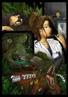Jurassic Park Graphic Novel by pauloomarcio