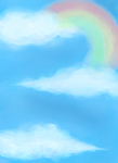over the rainbow by sourissou