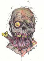Sloppy Joe Zombie by Justin-Mabry
