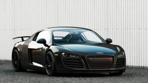 Audi R8 Black by DutaAV