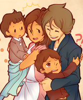 :LAYTON SPOILERS: DREAM AU kind of... by hyoutas