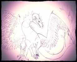 Commission For TuneoftheDragon: Life Dragon (Male) by MelodyoftheNightFury