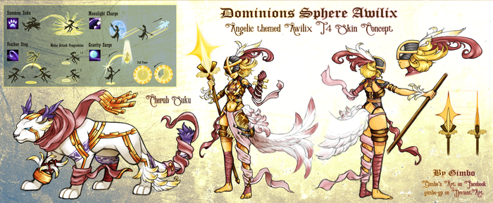 Dominions Sphere Awilix (SMITE game) by gimbo-gp