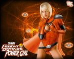 Orange Lantern Power Girl by chowyspizz