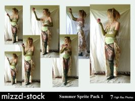 Summer Sprite Pack 1 by mizzd-stock