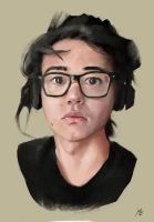 Self portraito by AsianSherlockHolmes