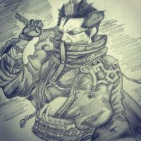 Auron by XSlappyTheDummyX