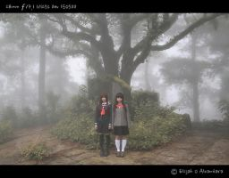 Enma Ai and Yuzuki Mikage by reinfall