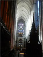 Inside the Cathedral. by Anakisha
