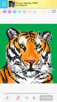 Draw Something: TIGER by Wolfish-Dreams