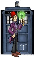 11th Doctor by badgerlordstudios
