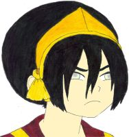 Angry Toph by fifthknown