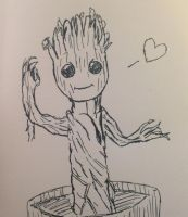 Little Groot by Opal-the-fluffmaker