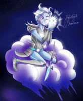 Nightlight and Moonbeam by LadyDeadPooly