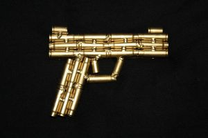 Mini Gold Gun by RayMackenzie