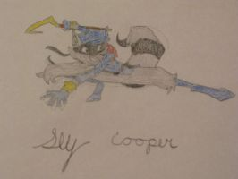 Sly Cooper Ready for Action by SlyCooperRocks101