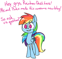 Ask Dash and Pinkie! by Lemon-Heartss