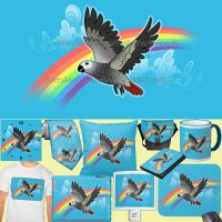 For Sale: Rainbow bridge african grey by emmil