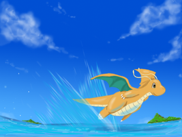 Dragonite by shinyscyther