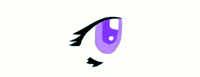 Purple Eye! by Mythical1230