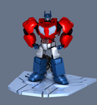 Optimus Prime 3D Model by TheRPGPlayer