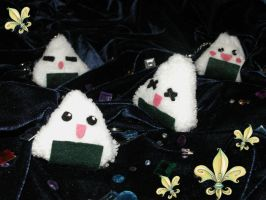 Onigiri Plush by Jibril-Cosplay