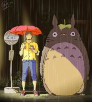 MY Neighbor Totoro by PatMichael