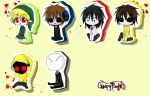 Creepypasta Chibi!!! by IkaNe96