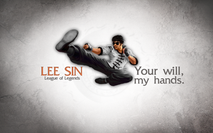 League of Legends Wallpaper - Lee Sin by deSess