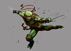 Raph Coloured by greenlantern