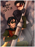 JT+TD: it's cannon by GoldphishCrackers