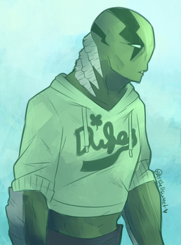 Scrap: Abe Sapien by Shellsweet