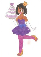 Happy 22nd Birthday to me by animequeen20012003