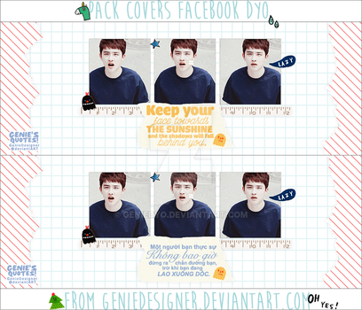 20150612. Pack Quotes Dyo 'Bling~bling~!' fr.Genie by GenieDyo
