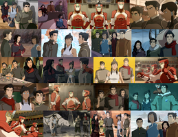 The New Team Avatar collage by JackieStarSister