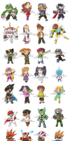 R.EXE Chibis V. 7 by Genolover