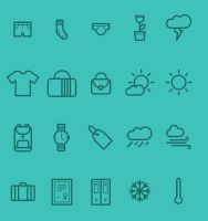 Medlee Iconset Available in AI EPS PSD by freebiespsd