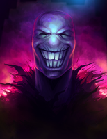 The Grinning Man by AtTheSpeedOfFetus