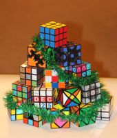 Rubik's Cube Tree by Synfull
