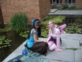 Flower Fairies and Peacocks 1 by MaiSheriCostumes
