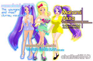 My Vocaloids by chatterHEAD