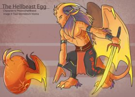 The Hellbeast Egg by Ulario