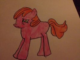 My own MLP character number 3 by RomanceWriter1