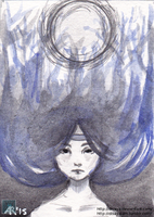 Reflection - ACEO by Disaya