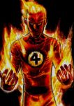 Johnny Storm- The Human Torch by Hognatius