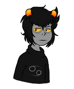 Disgruntled Karkat by MajesticIllusion