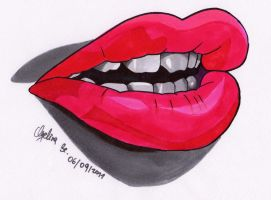 COPIC- LIPS by AngelinaBenedetti