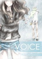 VOICE [Ferriswheelshipping dojinshi] Cover by Soranea